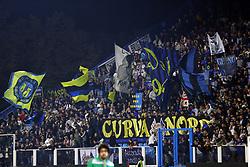 """Foto Filippo Rubin<br /> 07/10/2018 Ferrara (Italia)<br /> Sport Calcio<br /> Spal - Inter - Campionato di calcio Serie A 2018/2019 - Stadio """"Paolo Mazza""""<br /> Nella foto: I TIFOSI DELL'INTER<br /> <br /> Photo Filippo Rubin<br /> October 07, 2018 Ferrara (Italy)<br /> Sport Soccer<br /> Spal vs Inter - Italian Football Championship League A 2018/2019 - """"Paolo Mazza"""" Stadium <br /> In the pic: INTER SUPPORTERS"""