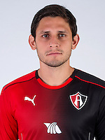 Mexico League - BBVA Bancomer MX 2016-2017 / <br /> Rojinegros - Club Atlas de Guadalajara Fc - Mexico / <br /> Luis Neri Caballero Chamorro