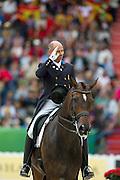 Steffen Peters - Legolas 92<br /> Alltech FEI World Equestrian Games™ 2014 - Normandy, France.<br /> © DigiShots