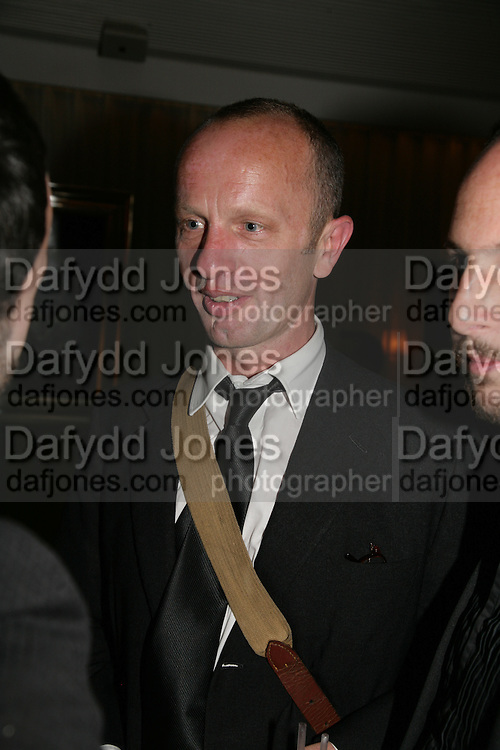 Johnnie Shand Kydd, An Evening At Sanderson,  Sanderson Hotel, 50 Berners Street, London, W1, Charity reception now in its seventh year raising money for CLIC Sargent.15 May 2007. -DO NOT ARCHIVE-© Copyright Photograph by Dafydd Jones. 248 Clapham Rd. London SW9 0PZ. Tel 0207 820 0771. www.dafjones.com.