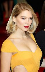 © London News Pictures. Lea Seydoux, EE British Academy Film Awards (BAFTAs), Royal Opera House Covent Garden, London UK, 08 February 2015, Photo by Richard Goldschmidt /LNP