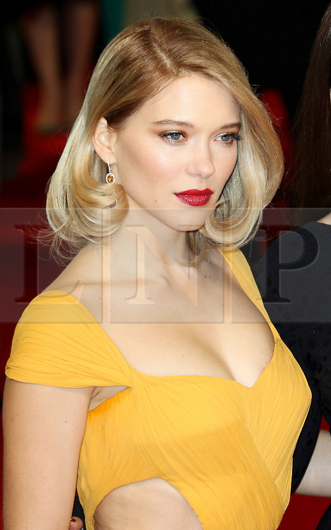 © London News Pictures. Lea Seydoux, EE British Academy Film Awards (BAFTAs), Royal Opera House Covent Garden, London UK, 08 February 2015, Photo by Richard Goldschmidt /LNP