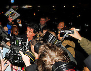 16.JANUARY.2007. LONDON<br /> <br /> SYLVESTER STALLONE ARRIVING BACK AT THE DORCHESTER HOTEL WHERE HE WAS SURROUNDED BY PHOTOGRAPHERS AND AUTOGRAPH HUNTERS.<br /> <br /> BYLINE: EDBIMAGEARCHIVE.CO.UK<br /> <br /> *THIS IMAGE IS STRICTLY FOR UK NEWSPAPERS AND MAGAZINES ONLY*<br /> *FOR WORLD WIDE SALES AND WEB USE PLEASE CONTACT EDBIMAGEARCHIVE - 0208 954 5968*
