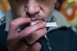 Mike is a homeless man living around Sheffield. He finds dibs (dogends) to roll cigarettes