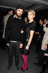 JAKE SUMNER and his sister MICKEY SUMNER children of singer Sting at a party to celebrate the launch of DKNY's new fragrance for women Delicious, held at The Serpentine Gallery, Kensington gardens, London on 12th December 2007.<br />