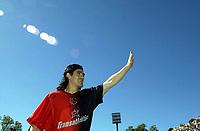 Fotball<br /> Argentina 2004/05<br /> Newells Old Boys v Banfield<br /> 12. september 2004<br /> Rosario - Argentina<br /> Foto: Digitalsport<br /> NORWAY ONLY<br /> Ariel Ortega debuterer for Newells Old Boys