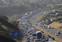 South Africa - Durban - 08 July 2020 - Massive traffic on the N2 near Chesterville, just before Pavilion turn off<br /> Picture: Doctor Ngcobo/African News Agency(ANA)