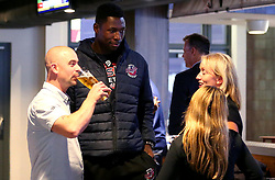 Daniel Edozie of Bristol Flyers attends the 2017/18 season launch event at Ashton Gate - Mandatory by-line: Robbie Stephenson/JMP - 11/09/2017 - BASKETBALL - Ashton Gate - Bristol, England - Bristol Flyers 2017/18 Season Launch