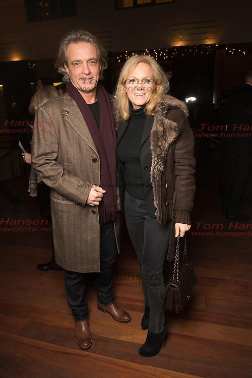 """OSLO,  20140205:  Premiereforestilling på """"The last 5 Years på Edderkoppen teater. Heine Totland og Heidi Gjermundshaug Broch. Dag Hvaring og Guri Schancke.  FOTO: TOM HANSEN"""