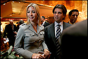 Manhattan, New York, USA, 20060424: Donald Trump jr. and Ivanka Trump at a  press conference launching building plans of the Trump Ocean Club, International Hotel and Tower in Panama...Photo: Orjan F. Ellingvag/ Dagbladet/ Getty