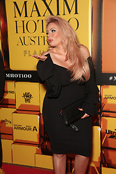 Celebrities and VIPs attend the 2018 Maxim Hot 100 Australia party at Flamingo Lounge, 33 Bayswater Road, Potts Point, with the dress code theme 'a touch of gold'. 16 Nov 2018 Pictured: Sarah Roza, Married at First Sights, MAFS. Photo credit: Richard Milnes / MEGA TheMegaAgency.com +1 888 505 6342