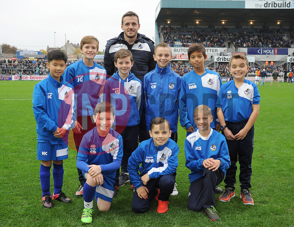 Bristol Rovers under 10's - Mandatory by-line: Neil Brookman/JMP - 29/10/2016 - FOOTBALL - Memorial Stadium - Bristol, England - Bristol Rovers v Peterborough United - Sky Bet League One