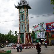 May 15, 2013 - Meiktila, Myanmar: Street scene in near a Muslim quarter, which was razed by Buddhists in ethnic violence in March, in Meikhtila, central Myanmar. CREDIT: Paulo Nunes dos Santos