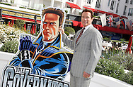 "CANNES, FRANCE - APRIL 04:  Arnold Schwarzenegger attends photocall for ""The Governator"" at Hotel Majestic on April 4, 2011 in Cannes, France.  (Photo by Tony Barson/WireImage)"