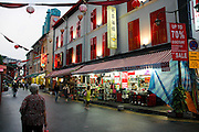 Chinatown in the evening