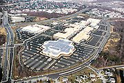 Bowie Town Center is a regional mall with a faux-Main Street lined with chain stores, meant to be reminiscent of an old town center.  Today's regional malls are situated in such a way that accessing them other than by vehicle is almost impossible.