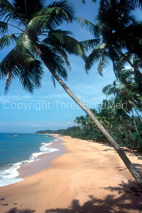 Sri Lanka West Coast Beach Near Beruwela Threeblindmen