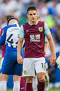 Ashley Westwood (Burnley) during the Premier League match between Brighton and Hove Albion and Burnley at the American Express Community Stadium, Brighton and Hove, England on 14 September 2019.