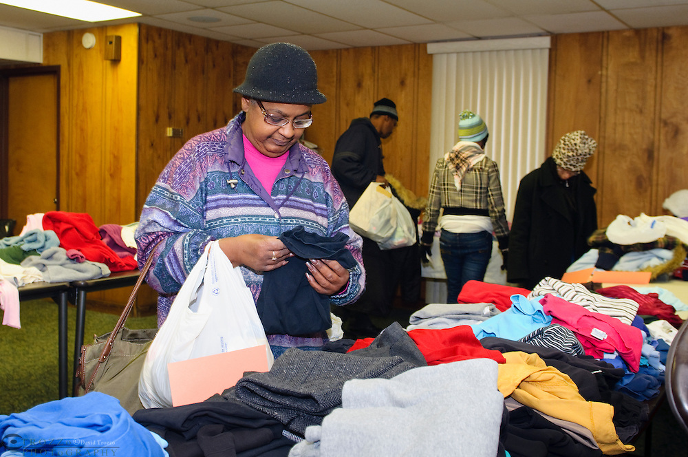Community outreach, clothing give away Seat Pleasant, MD