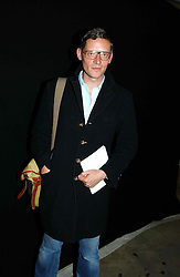 Fahion designer GILES DEACON at Fashion Fringe - part of London fashion week held at the Selfridges Car Park, off Oxford Street, London on 22nd September 2004.<br />
