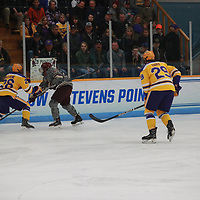 Men's Ice Hockey: University of Wisconsin-Stevens Point Pointers vs. Norwich University Cadets