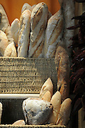 different varieties of Baguette