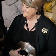 NLD/Amsterdam/20120209 - Bn' ers gefotografeerd als de Nachtwacht voor het Goed Geld Gala 2012, Erica Terpstra