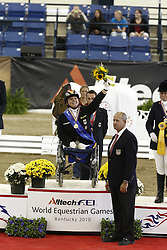 Dr Trabert Angelika (GER) - Ariva Avanti<br /> Alltech FEI World Equestrian Games <br /> Lexington - Kentucky 2010<br /> © Dirk Caremans