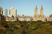 View of Central Park, the Dakota and the San Remo from 927 Fifth Avenue, 11th floor