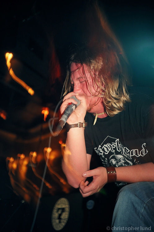 Tommy Gun Preachers á Gauknum í september 2004.