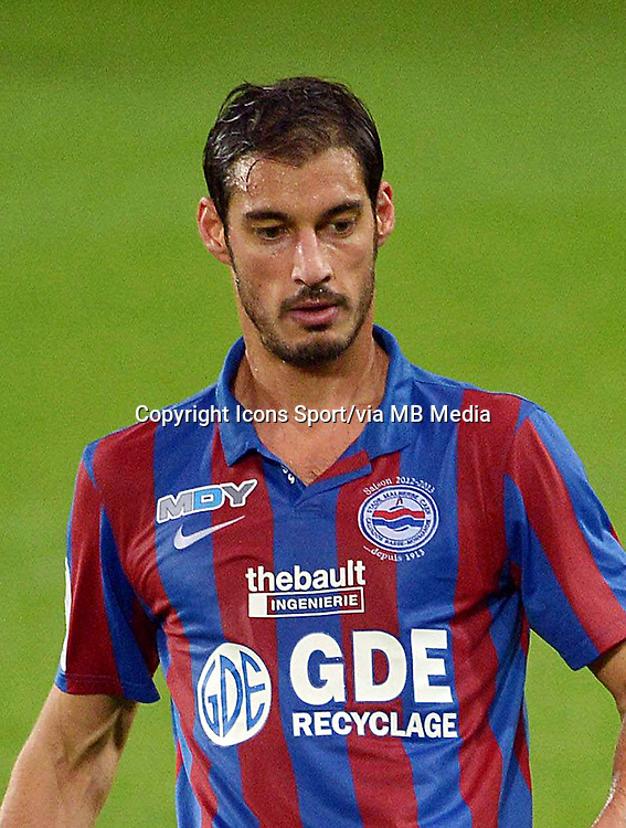 Nicolas SEUBE  - 19.10.2012 - Caen / Guingamp - 11e journee de Ligue 1 - Photo: Dave Winter / Icon Sport.