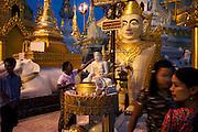 Shwedagon Pagoda, Rangoon, Burma