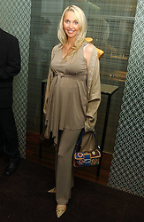 HEATHER TCHENGUIZ at a party to celebrate the publication of 'The Russian House' by Ella Krasner held at De Beers, 50 Old Bond Street, London W1 on 9th June 2005.<br />