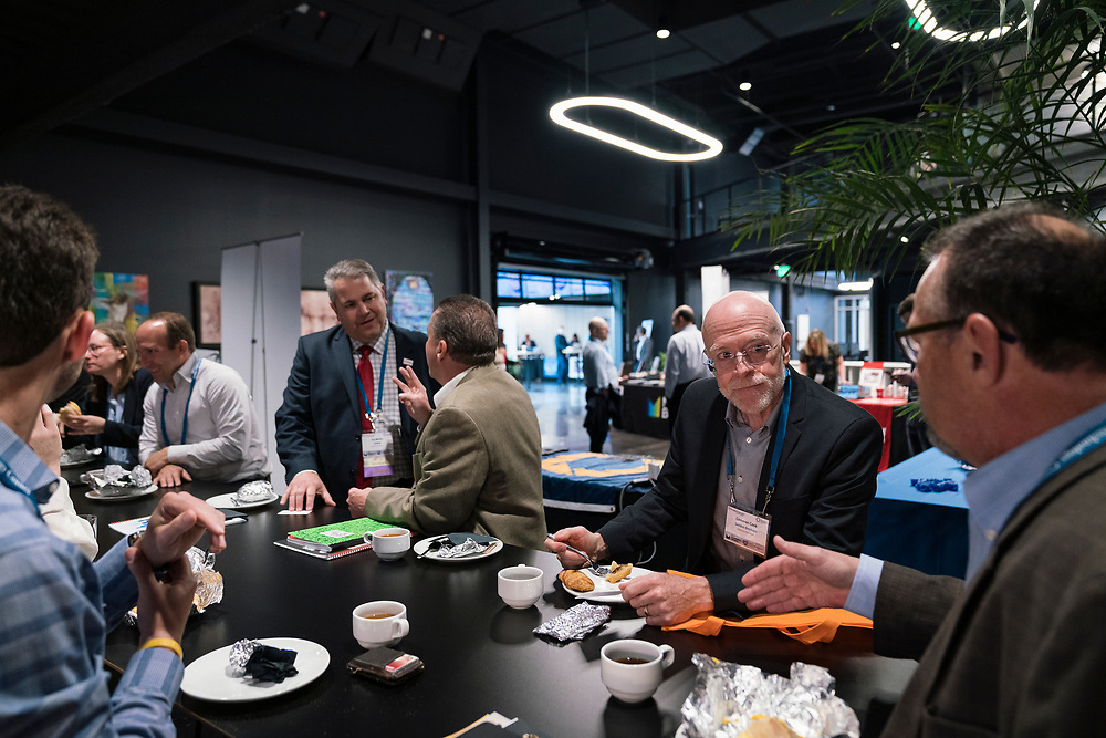 Cameron Cook from Gordon Brothers at the Wisconsin Entrepreneurship Conference at Venue 42 in Milwaukee, Wisconsin, Tuesday, June 4, 2019.