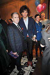 Left to right, HOLLY JOHNSON and MIKA at the launch party of 'Songs For Sorrow' hosted by Alber Elbaz and Mika held at Lanvin, 32 Savile Row, London on 11th November 2009.