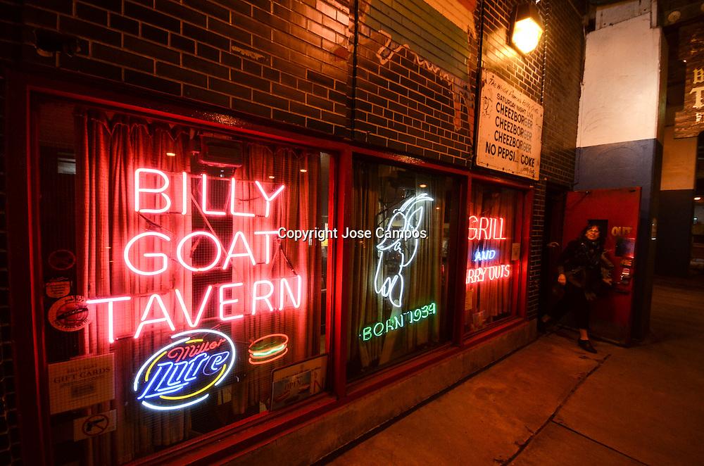 Billy Goat Tavern.