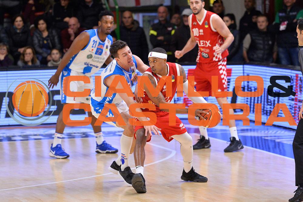 SASSARI 16 DICEMBRE 2017<br /> Banco di Sardegna Dinamo Sassari - The Flexx Pistoia<br /> LegaBasket LBA PosteMobile 2017/2018<br /> NELLA FOTO Tyrus McGee<br /> FOTO CIAMILLO - Luigi Canu
