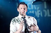 Ink <br /> by James Graham <br /> directed by Rupert Goold <br /> world premier <br /> at Almeida Theatre, London, Great Britain <br /> press photocall 26th June 2017 <br /> <br /> <br /> Richard Coyle as Larry Lamb <br /> <br /> <br /> <br /> <br /> Photograph by Elliott Franks <br /> Image licensed to Elliott Franks Photography Services