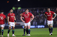 Rugby Union - 2017 British & Irish Lions Tour of New Zealand - New Zealand Provincial Barbarians vs. British & Irish Lions<br /> <br /> Ben Te'o, Tadhg Furlong and Sam Warburton of The British and Irish Lions react during the match at Toll Stadium [Okara Park], Whangarei.<br /> <br /> COLORSPORT/LYNNE CAMERON