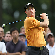 Jim Furyk in action during the third round of theThe Barclays Golf Tournament at The Ridgewood Country Club, Paramus, New Jersey, USA. 23rd August 2014. Photo Tim Clayton