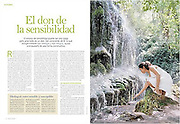 Full Page in Health Reportage.<br /> CuerpoMente Magazine<br /> Spain