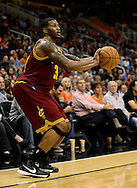 Nov. 09, 2012; Phoenix, AZ, USA; Cleveland Cavaliers forward Alonzo Gee (33) puts up a shot against the Phoenix Suns during the first half at US Airways Center. Mandatory Credit: Jennifer Stewart-US PRESSWIRE