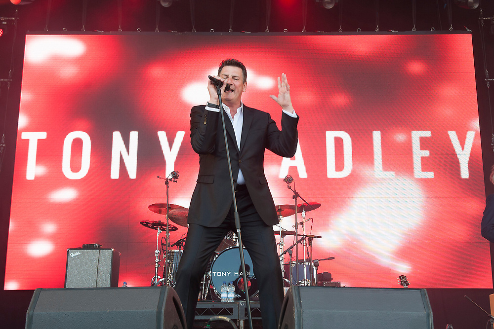 Tony Hadley in concert at Lets Rock Scotland, Dalkeith Country Park, Edinburgh, Great Britain 23rd June 2018