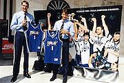 Incontro con D'Alema 1999<br /> denis marconato, alessandro abbio