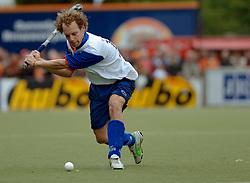 05-06-2005 HOCKEY: FINALE PLAYOFFS: BLOEMENDAAL-ORANJE ZWART: BLOEMENDAAL<br /> De hockeyers van Oranje Zwart zijn voor het eerst in hun bestaan landskampioen geworden. De Eindhovense club klopte Bloemendaal in het beslissende play-off-duel met 3-1 / <br /> Jeroen van Eijk<br /> ©2005-WWW.FOTOHOOGENDOORN.NL