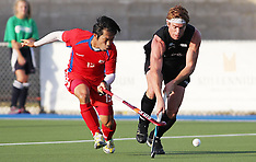 Auckland-Hockey, New Zealand v Korea 3rd test
