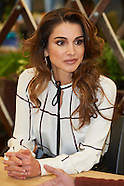 111915 Queen Rania of Jordan visit MediaLab Prado