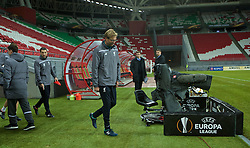 KAZAN, RUSSIA - Wednesday, November 4, 2015: Liverpool's manager Jürgen Klopp during a training session at the Kazan Arena ahead of the UEFA Europa League Group Stage Group B match against FC Rubin Kazan. (Pic by Oleg Nikishin/Propaganda)