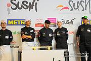 Le championnat de France de sushi a réuni des chefs cuisiniers français et internationaux. Tino Singharaj & Thibaut Latour en attente du résultat pour la phase finale