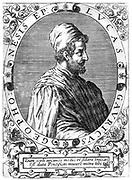 Lucas Gaurico (1476-1558) Italian Professor of Mathematics, Ferrara, 1531. Bishop of Civitata 1545. Copperplate by de Bry